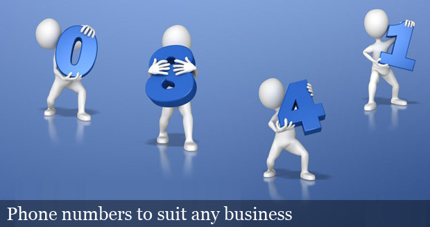 Phone numbers to suit any business